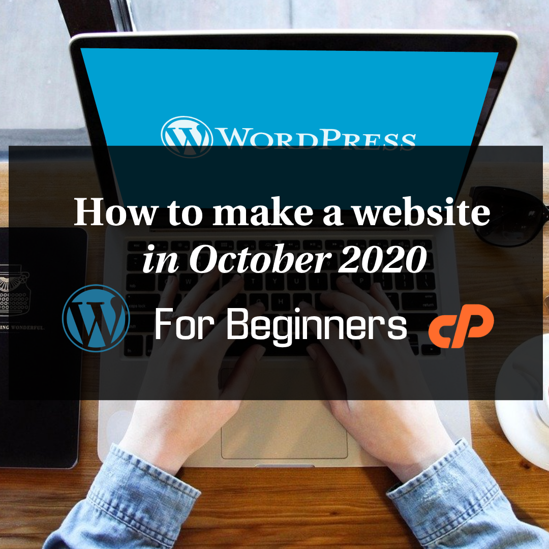 How To Make A Website in October 2020 For Beginners Thumbnail 1