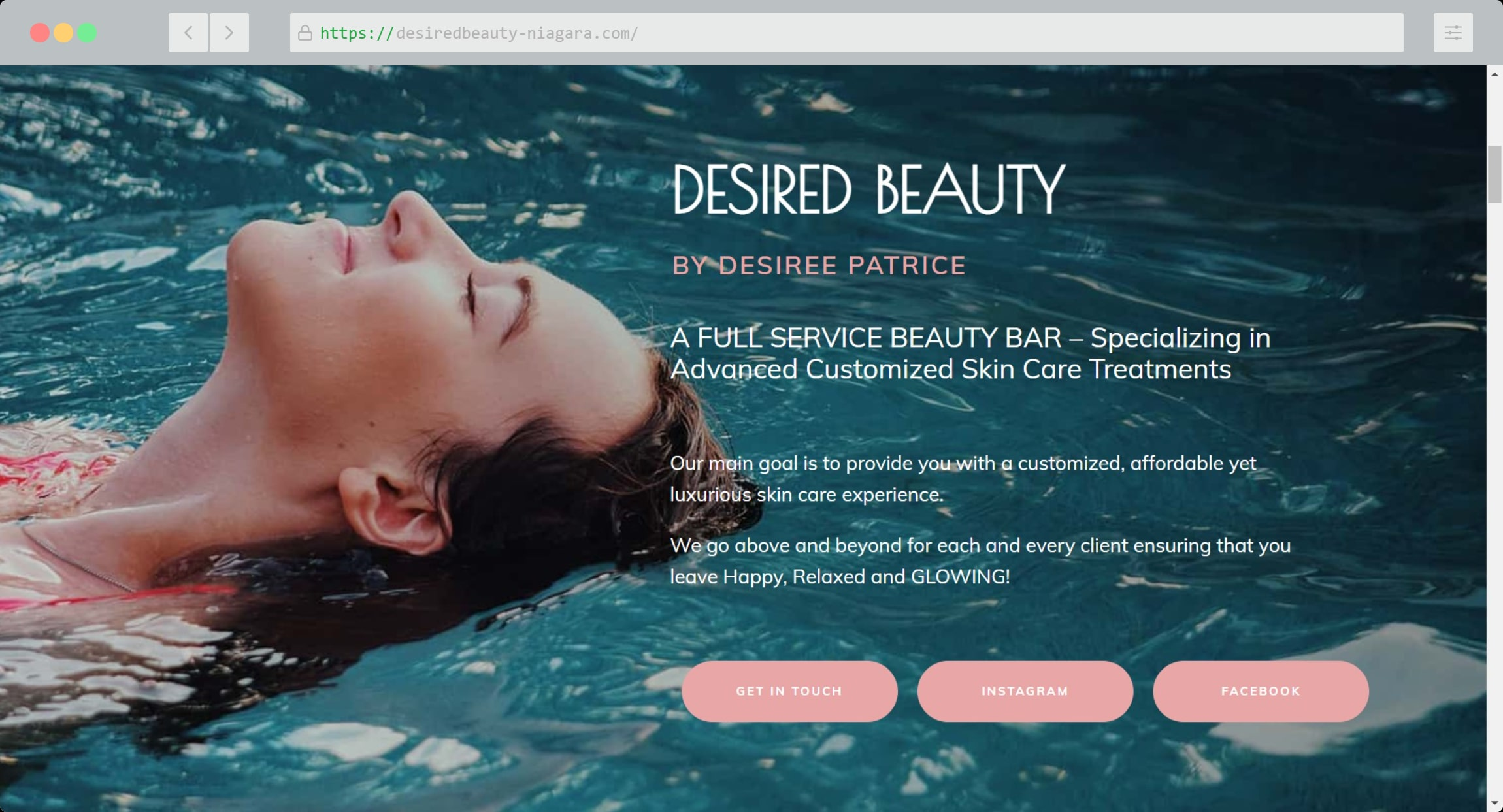 Desired Beauty Niagara Website min