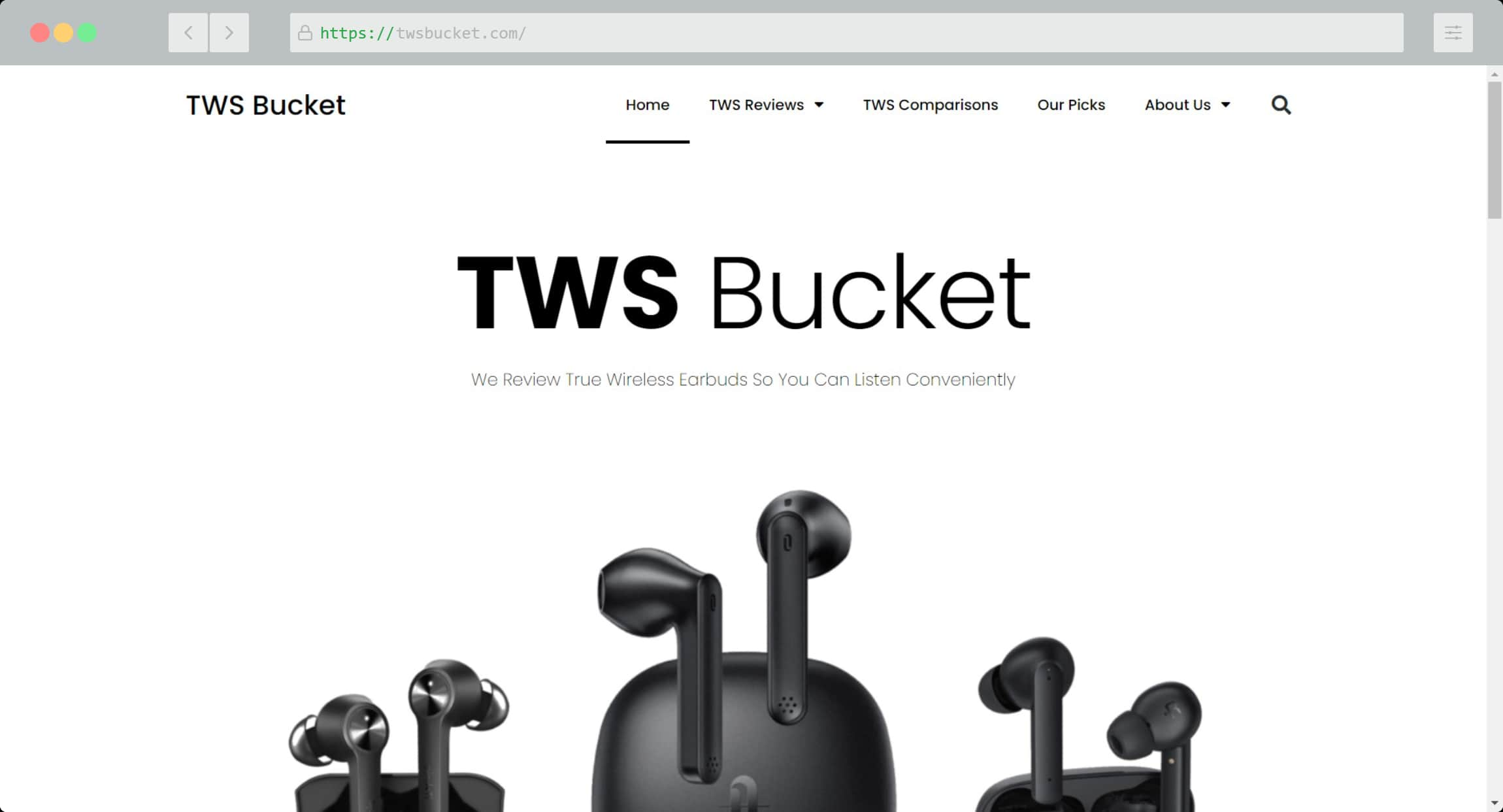 TWS Bucket Website