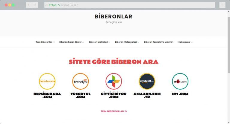 Website Portfolio Biberonlar
