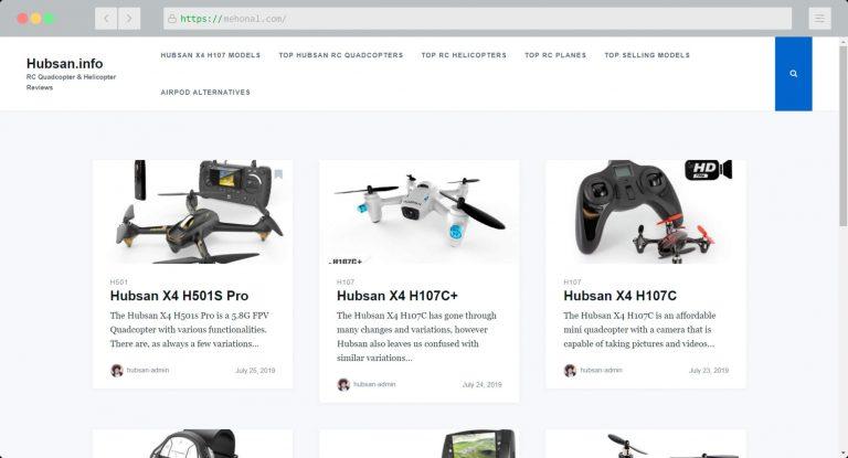 Website Portfolio Hubsan