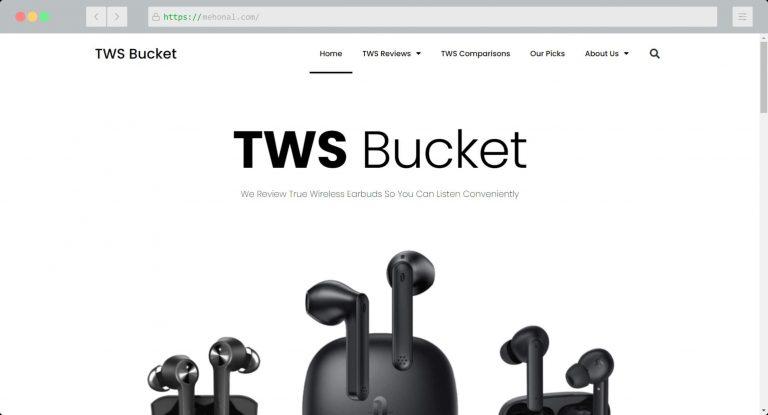 Website Portfolio TWS Bucket